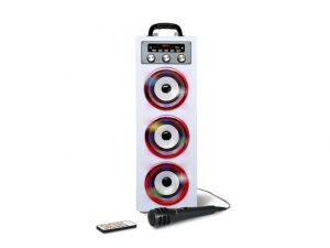 pure-acoustics-mcp30-multimedia-karaoke-systeem-met-discolicht-wit